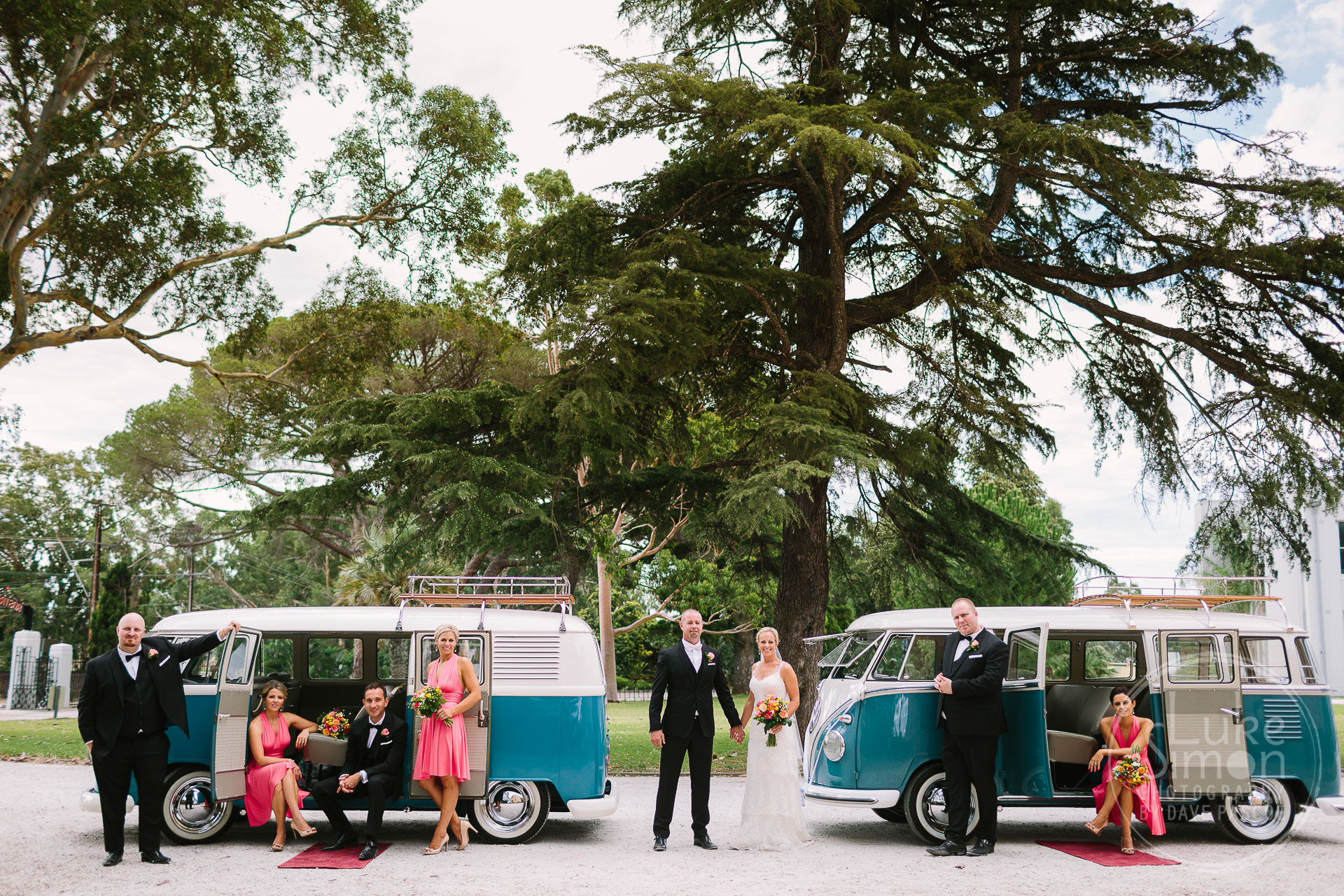 Kombi Vans wedding